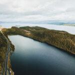 Heimsjøen, Snåsa, See in Norwegen